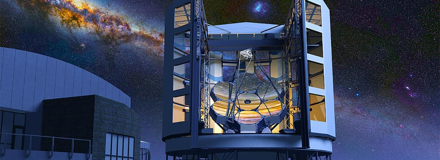 Rendering of Giant Magellan telescope